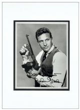 Robert Stack Autograph Signed Photo - The Untouchables